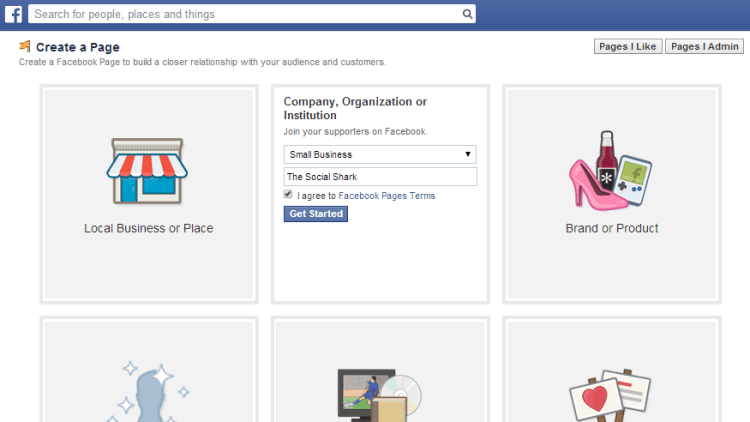 Business Set Up On Facebook - Facebook Company Page