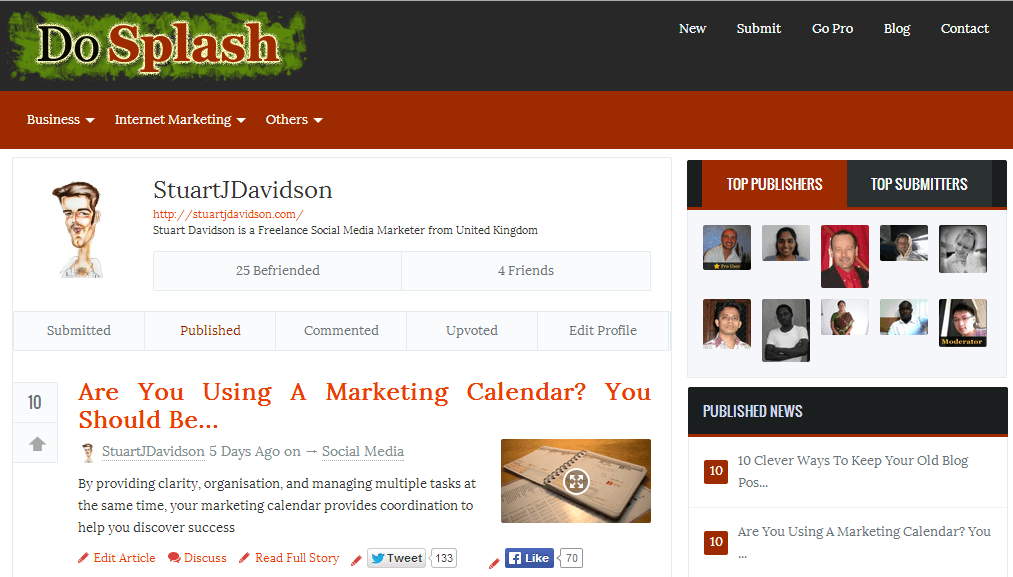 10 Online Communities For Expanding Your Blog Network - DoSplash