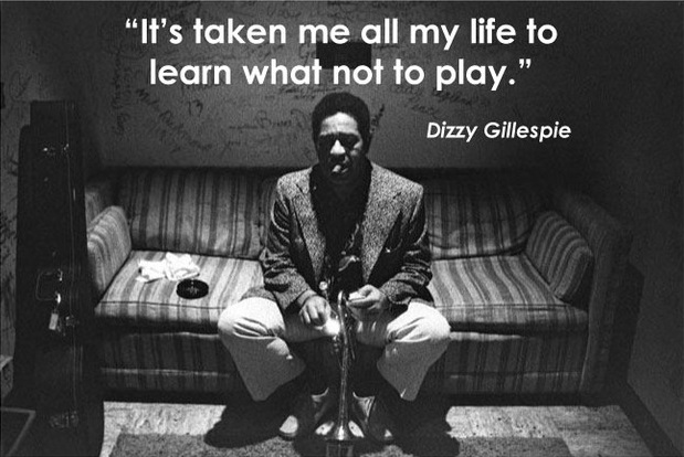 Motivational business quotes - taken me all life to learn what not to play