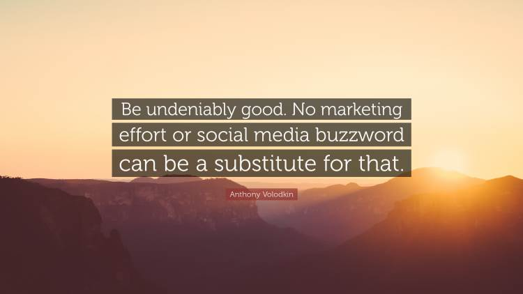 Social Marketing Quotes - Anthony Volodkin