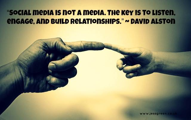 Social Marketing Quotes - David Alston