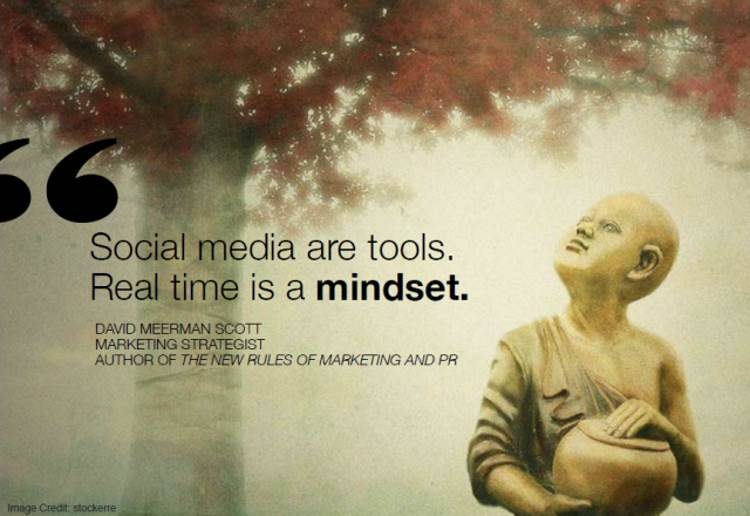 Social Marketing Quotes - David Meerman Scott