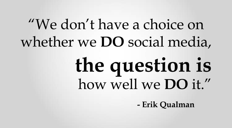 Social Marketing Quotes - Erik Qualman