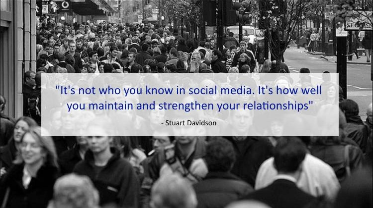 Social Marketing Quotes - Stuart Davidson