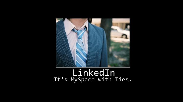 Avoid LinkedIn Blogging