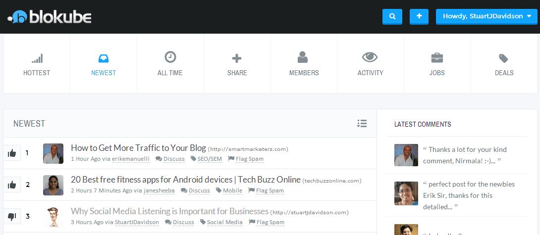 10 Online Communities For Expanding Your Blog Network - Blokube