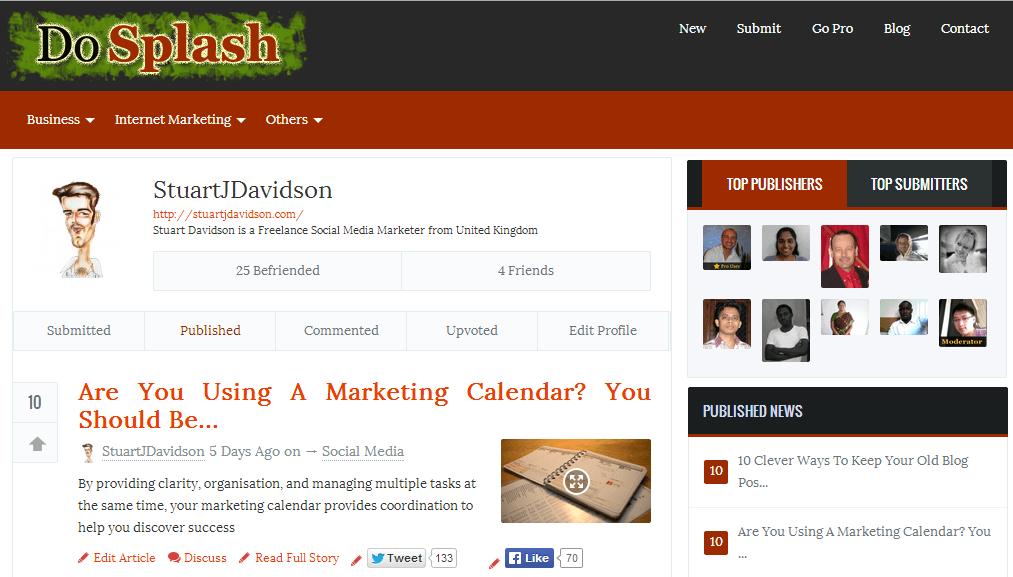 10 Online Communities For Expanding Your Blog Network - DoSplash