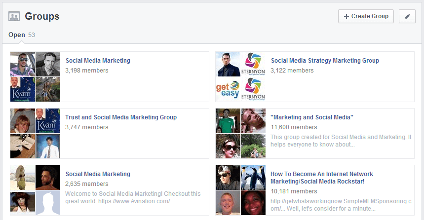 10 Online Communities For Expanding Your Blog Network - Facebook Groups
