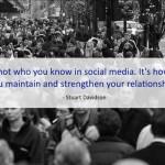 Social Marketing Quotes - Stuart Davidson